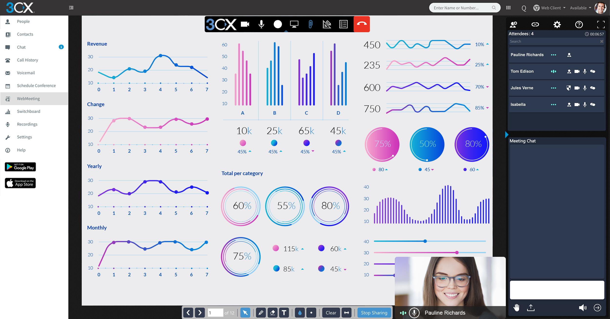 webmeeting_share report